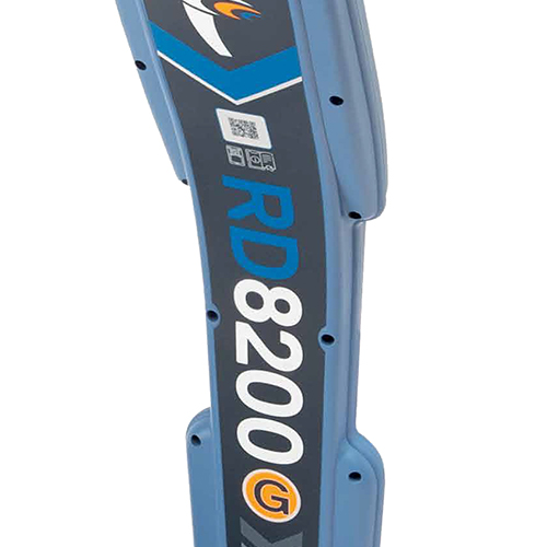 RD8200 : Lokalizator z zaawansowanymi funkcjami lokalizacji, prądu kierunkowego i zapisywaniem pomiarów.